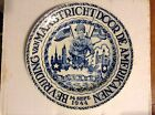 September 14, 1944 Original Commemorative Plate Maastricht Holland Liberated