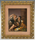 Large 19 century KPM Hand Painted German Porcelain Plaque (5054)