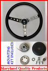 84 90 Ford TBird Escort Crown Vic EXP Grant Steering Wheel 15 Black Stainless