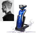 KeiMei 3D Men's Rechargeable Washable Cordless Rotary Electric Shaver Hair Razor