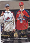 2013-14 UD SP AUTHENTIC NATHAN MacKINNON ALEKSANDER BARKOV DUEL AUTO #192 13-14