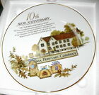 Avon 10th Anniversary Plate Flawless LKN Porcelain with 22k Gold Trim boxed 8.5