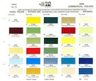 1970 FORD BRONCO ECONOLINE VAN PICKUP F 100 F 250 F 350 TRUCK PAINT CHIPS PPG