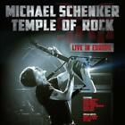 MICHAEL SCHENKER - TEMPLE OF ROCK: LIVE IN EUROPE USED - VERY GOOD CD