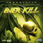 OVERKILL - IMMORTALIS/LIVE AT WACKEN OPEN AIR 2007 [PA] USED - VERY GOOD CD