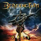 BENEDICTUM - OBEY USED - VERY GOOD CD