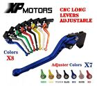 Motorcycle Adjustable CNC Long Brake Clutch Levers For Aprilia RS250 1998-2003