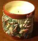 Fitz & Floyd Home Fragrance Candle Christmas TOYLAND Drum Train Bear SEALED