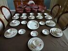 Vintage Spode Copeland English China Fairy Dell Swirl  57 Pieces  See List