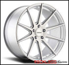 """19"""" VARRO VD10 SILVER CONCAVE STAGGERED WHEELS RIMS FITS E90 BMW 328i 335i 4DR"""