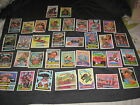 LOT (43) 1987 ALMOST COMPLETE SET SERIES 9 GARBAGE PAIL KIDS GPK AUTHENTIC CARDS