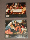 RANDOM HOUSE PUZZLES NATIVITY  THE LAST SUPPER 500 PIECES NEW SEALED