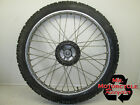 1981 HONDA XL 125 FRONT WHEEL FACTORY XL125 FRONT RIM SPOKES HUB STRAIGHT GOOD