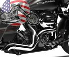 New Chrome Magnaflow Rockstar 2 into 1 Exhaust Pipe System Harley Touring Bagger