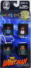 Universal Monsters Minimates THE WOLFMAN 4 figure pack