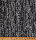 Cotton Branching Out Birch Tree Trunks Cotton Fabric Print by the Yard D477.03