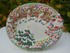 FITZ & FLOYD ESSENTIALS WHIMISCAL CANDY LANE EXPRESS SERVING PLATTER ORIG BOX