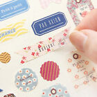 8pcs set Romance Forest Story Paper Stickers Scrapbook Diary Planner Decoration