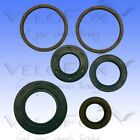 Athena Engine Oil Seal Kit fits Peugeot Speedfight 2 50 LC DD RallyVic 2006-2007