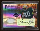 2005 LIMITED JAMES LOFTON AUTO JERSEY #D 01 25 AUTOGRAPH PACKERS LEGEND WR RARE