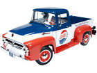 1956 FORD F 100 PEPSI COLA 1 18 1OF1250 DIECAST MODEL CAR BY AUTOWORLD AW216