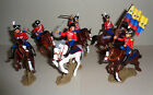 COLOMBIAN HUSSARS OF JUNIN Argentina DSG Plastic Soldiers set Britains mounted