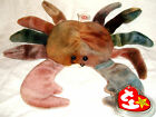 Ty Beanie Babies -Claude the Crab Ty Dye (Retired) RARE WITH ERRORS 4083 MINT!!