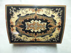 TORNA a SURRIENTO SWISS MUSICAL BOX  WOODEN EXCELLENT CONDITION