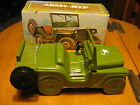 1970's Vintage AVON Collectible ARMY JEEP Wild Country After Shave w/Org. Box
