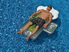 Swimline Swimming Pool Pond Giant Inflatable Beer Mug Float For Adults