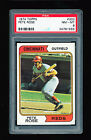 PSA 8 PETE ROSE 1974 TOPPS #300 *BEAUTIFUL WITH 50 50 CENTERING* REVIEW FOR A 9