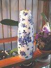 ROYAL PORZELLAN BAVARIA KPM GERMANY- ROSE VASE - HANDARBEIT ECHT COBALT - LARGE