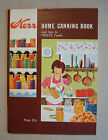 How to Freeze Foods 1971 Paperback Booklet Illustrated