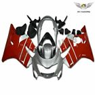 NT Silver Red Injection Plastic Fairing Fit for Honda 1999-2000 CBR600 F4 j013