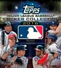 2016 Topps MLB Sticker COLLECTION BOX 50 Packs - 8 Stickers Pack FACTORY SEALED
