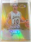 Steve Nash 2013-14 Select Signatures Gold Auto #03 10 (Lakers)