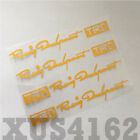 4pcs Racing Development Trd Car Door Handle Sticker Decal Tacoma Tundra Toyota