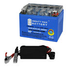 Mighty Max YTX4L BS GEL Battery for Scooter SYM DD 50CC 09 + 12V 1AMP CHARGER