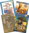 Lot 4 SONLIGHT CORE C Readers Homeschool Misty Whipping Boy Long Way to New Land