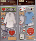 Recollections DOCTORNURSE Embellishment Stickers Several Varieties Georgeous