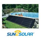 Sun2Solar 4x20 Above Ground  In Ground Pool Solar Heating Panels