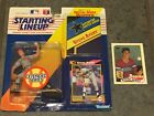 STEVE AVERY STARTING LINEUP 1992 HEADLINE COLLECTION WITH ROOKIE CARD