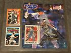 DARRYL STRAWBERRY (1988) STARTING LINEUP WITH STARTING LINEUP CARD AND 90 TOPPS!