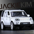 Silver 1:32 Land Rover Discovery 4 With Sound & Light Diecast Model Car By KDW