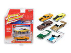 MUSCLE CARS USA RELEASE 1A SET OF 6 CARS 1/64 BY JOHNNY LIGHTNING JLMC001-A