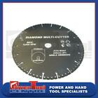 Diamond Coated Multi Cutter Saw Blade Fits 230mm Angle Grinders Cuts Everything