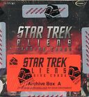 Star Trek Aliens ARCHIVE BOX w ALL 76 Autos, Exclusive Relic & MORE