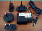 *NEW* Gefen 120-240VAC 50/60hz 5V DC 1A out Power Adapter UK EU US W050010GO-XP