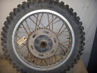 82 HONDA XL500R xl r 500 #2 rear wheel and tire