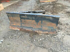 72 SNOW PLOW DOZER BLADE ATTACHMENT Skid Steer Track Loader 4 Way Angle